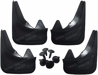 Rubber Moulded Universal Fit MUDFLAPS Mud Flaps for Ford Fiesta,Focus,Mondeo