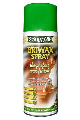 Briwax Wax Finish Spray 400ml The Perfect Wax Finish Cleans and Polishes