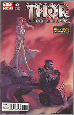 Thor God Of Thunder #9 (NM)`13 Aaron/ Ribic (VARIANT)