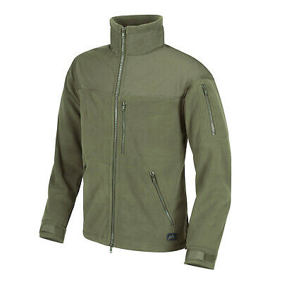 Helikon Tex Classic Army Fleece Jacket Olive Green oliv Outdoor Jacke