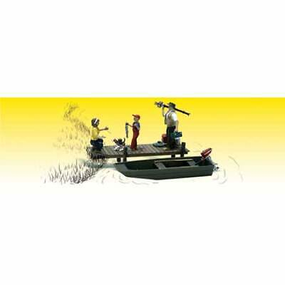 NEW Woodland Scenics Family Fishing O A2756