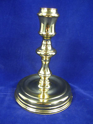Baldwin Brass Candlestick American Museum Collection Burgess 6 inches tall