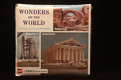 The Seven Wonders of The World Viewmaster 1962 Factory Sealed