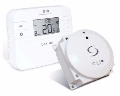 Salus Rt500Bc Digital Programmable Wireless Room Thermostat Boiler Control Stat