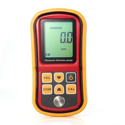 Digital LCD Ultrasonic Thickness Gauge Sound Velocity 9999m/s Meter Tester