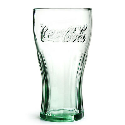Personalised Branded 1 Pint Coca Cola Glass Engraved With Your Text And Gift Box