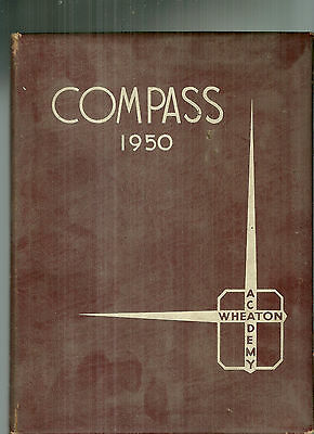 1950 Wheaton Academy High School Yearbook Illinois West Chicago