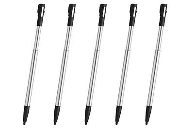 Hellfire Trading 5x DSi Black Silver Stylus Retractable Touch Pen for Nintendo
