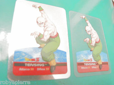2 Carte card cards lamincards edibas DRAGON BALL Z 2006 tensing 29 silver normal