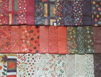 MODA AWESOME FABRIC 44 FAT QUARTERS plus 1 PANEL for Quilting & Crafts