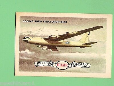 #d66. Atlantic Petroleum Conquest Of  Air Card #51 Boeing  Rb52B  Stratofortress