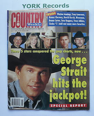 COUNTRY WEEKLY MAGAZINE - July 1 1997 - George Strait / Tracy Lawrence