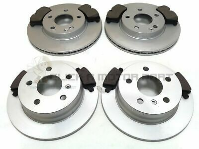 MERCEDES B-CLASS B180 CDi 2005-2012 FRONT AND REAR BRAKE DISCS & PADS SET NEW