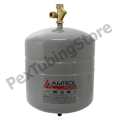 Amtrol Fill-Trol 110 Boiler Expansion Tank w/ Auto Fill Valve, 4.4 Gal, FT-110