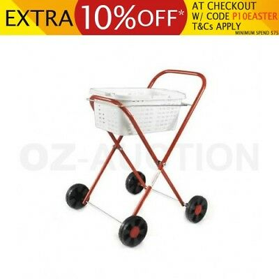 Orbit Peg N' Play Trolley with Laundry Basket