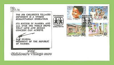 Namibia 1994 Children Village Care set First Day Cover