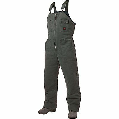 Tough Duck Washed Insulated Overall-XL Moss #75371BMOSSXL