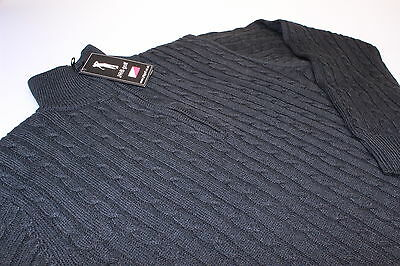 Ladies Sweater JRB Golf Lined Black Cable Wind/Water Resistant Jumper S,M,L New