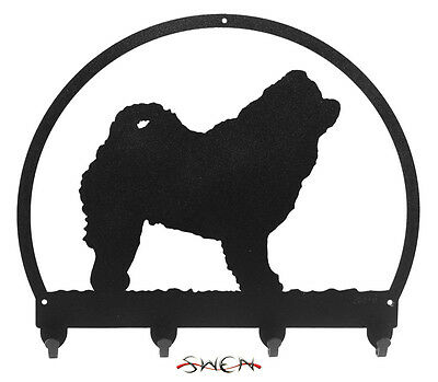 Chow Chow Dog Metal Key or Leash Hanger *NEW*