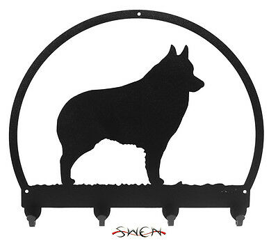 Schipperke Dog Metal Key or Leash Hanger *NEW*