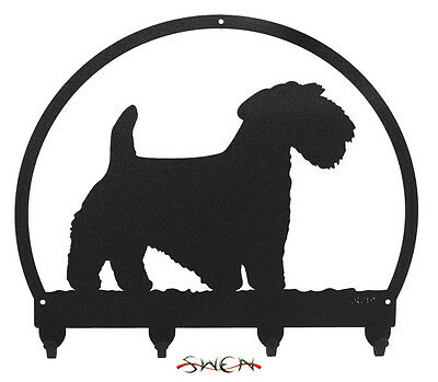Sealyham Terrier Metal Key or Leash Hanger *NEW*