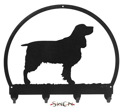 Springer Spaniel Metal Key or Leash Hanger *NEW*