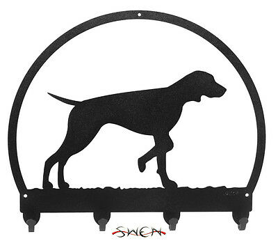 Vizsla Dog Metal Key or Leash Hanger *NEW*