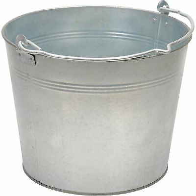 Vestil Galvanized Steel Bucket-3 1/4 Gals #BKT-GAL-325
