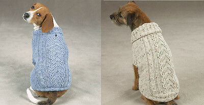 Zack & Zoey Dublin Knit Dog Sweaters Dog Sweater Hard To Find - Clearance