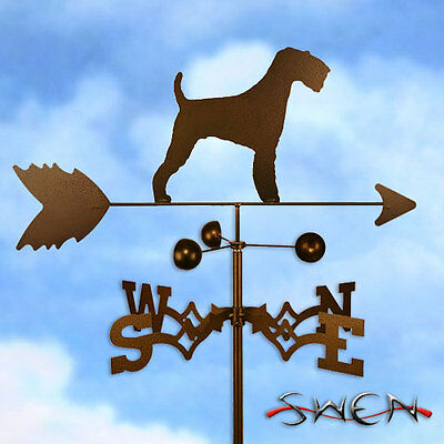 Hand Made Airedale Terrier Dog Weathervane *NEW*