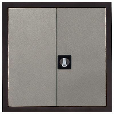 Edsal Wall Cabinet -30in W x 12in D x 30in H, # COS-SVWALL