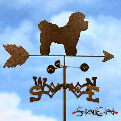 Hand Made Bichon Dog Weathervane *NEW*