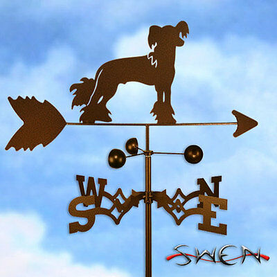 Hand Made Chinese Crested Dog Weathervane *NEW*