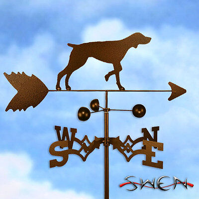 Hand Made German Shorthaired Pointer Dog Weathervane *NEW*