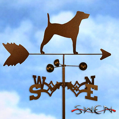 Hand Made Jack Russell Terrier Weathervane *NEW*