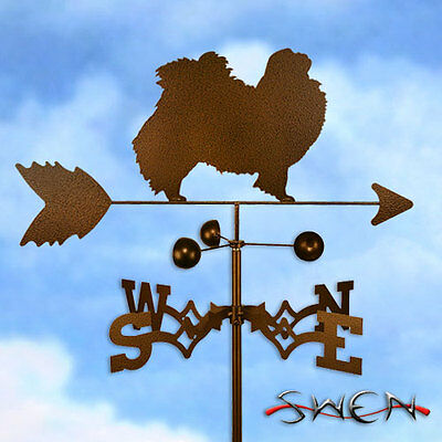 Hand Made Japanese Chin Dog Weathervane *NEW*