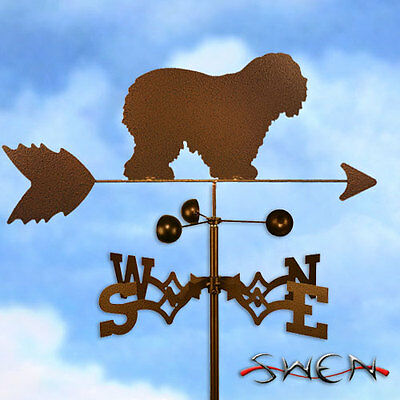 Hand Made Old English Sheepdog Weathervane *NEW*