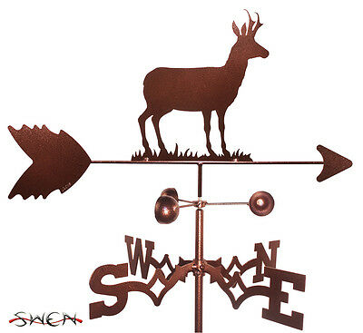 Hand Made Antelope Reindeer Weathervane *NEW*