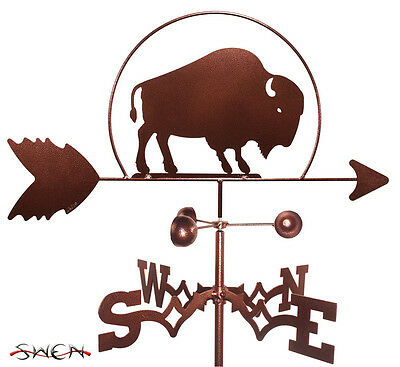 Hand Made Buffalo Bison Weathervane *NEW*