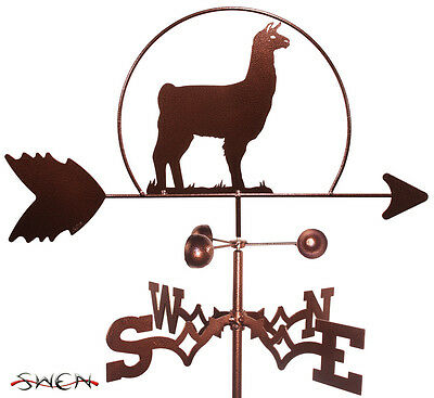 Hand Made Llama Alpaca Weathervane *NEW*