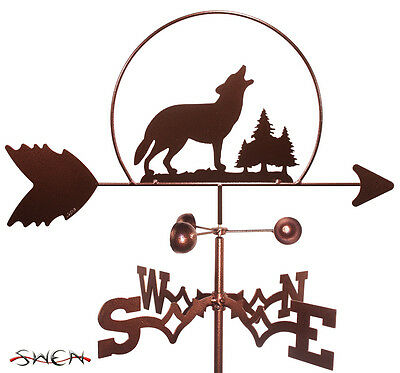 Hand Made Wolf Wolves Wildlife Weathervane *NEW*