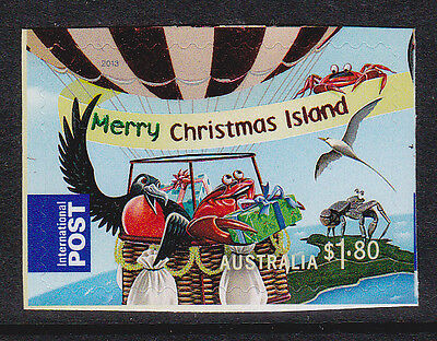 2013 Christmas Island Christmas -  $1.80 Enhanced International S/Adhesive Stamp