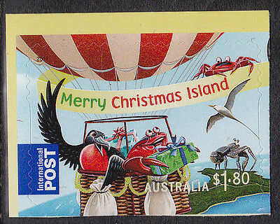 2013 Christmas Island Christmas -  $1.80 International Booklet Stamp