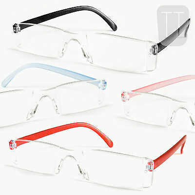 3 Pairs New Rimless Readers Reading Glasses - Strengths +1.5+2.0+2.50+3.00+3.5