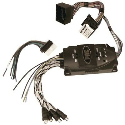 PAC AA-GM44 Select Buick Chevrolet GMC Amplifier Add On Interface 4 Ch RCA