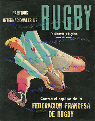 3 Fantastic Rugby Match Posters Argentina, France, South Africa *free Shipping*