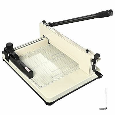 "12"" Manual Paper Cutter Heavy Duty A4 Commercial 400 Sheets Book Trimmer Machine"
