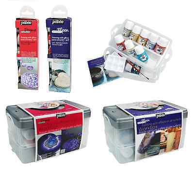 Pebeo Fantasy Prisme Moon Discovery Sets Decorative Effects Multi Surface Paint