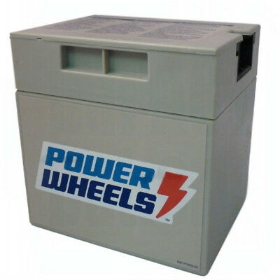 Power Wheels L7820 Barbie Jammin' Jeep Wrangler Refresh Replacement 12V Battery
