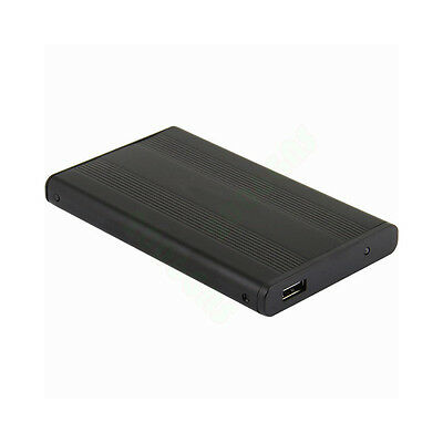 2.5 Inch IDE Hard Drive Enclosure USB 2.0 High Speed External HDD Case